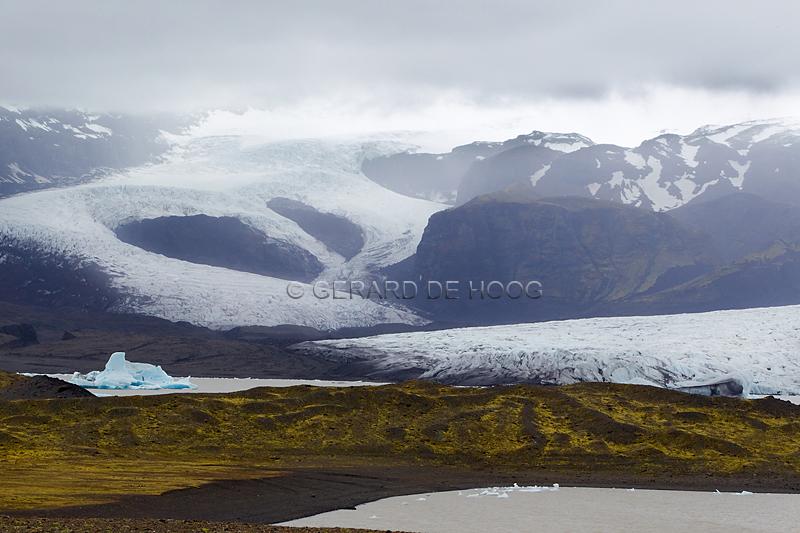 Kviarjokull (IJsland)